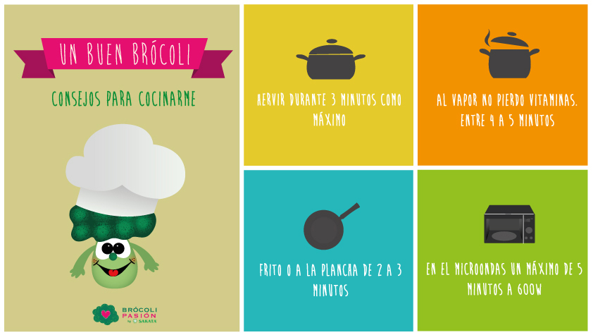 C mo cocinar el br coli br coli pasi n for Maneras de cocinar brocoli