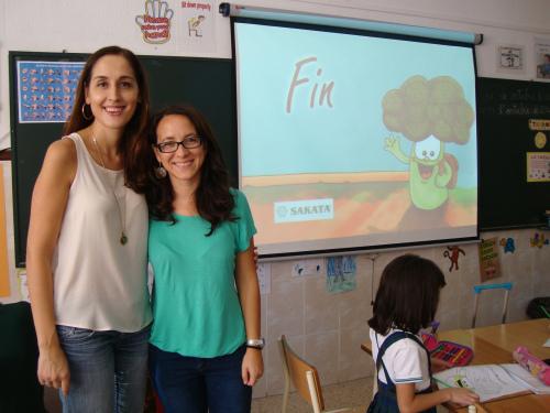 Mª Ángeles Lluch y Elena Payà