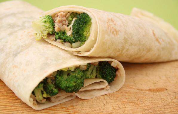 rollito brocoli y atun