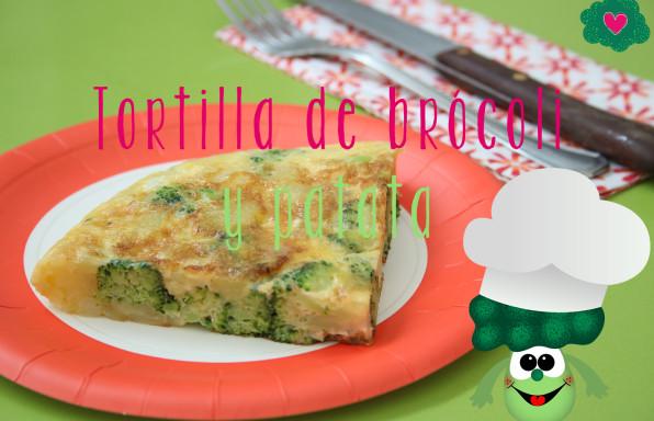 Receta tortilla de brocoli y patata