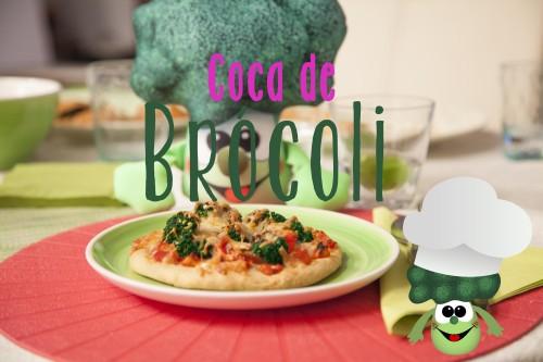 coca de brócoli