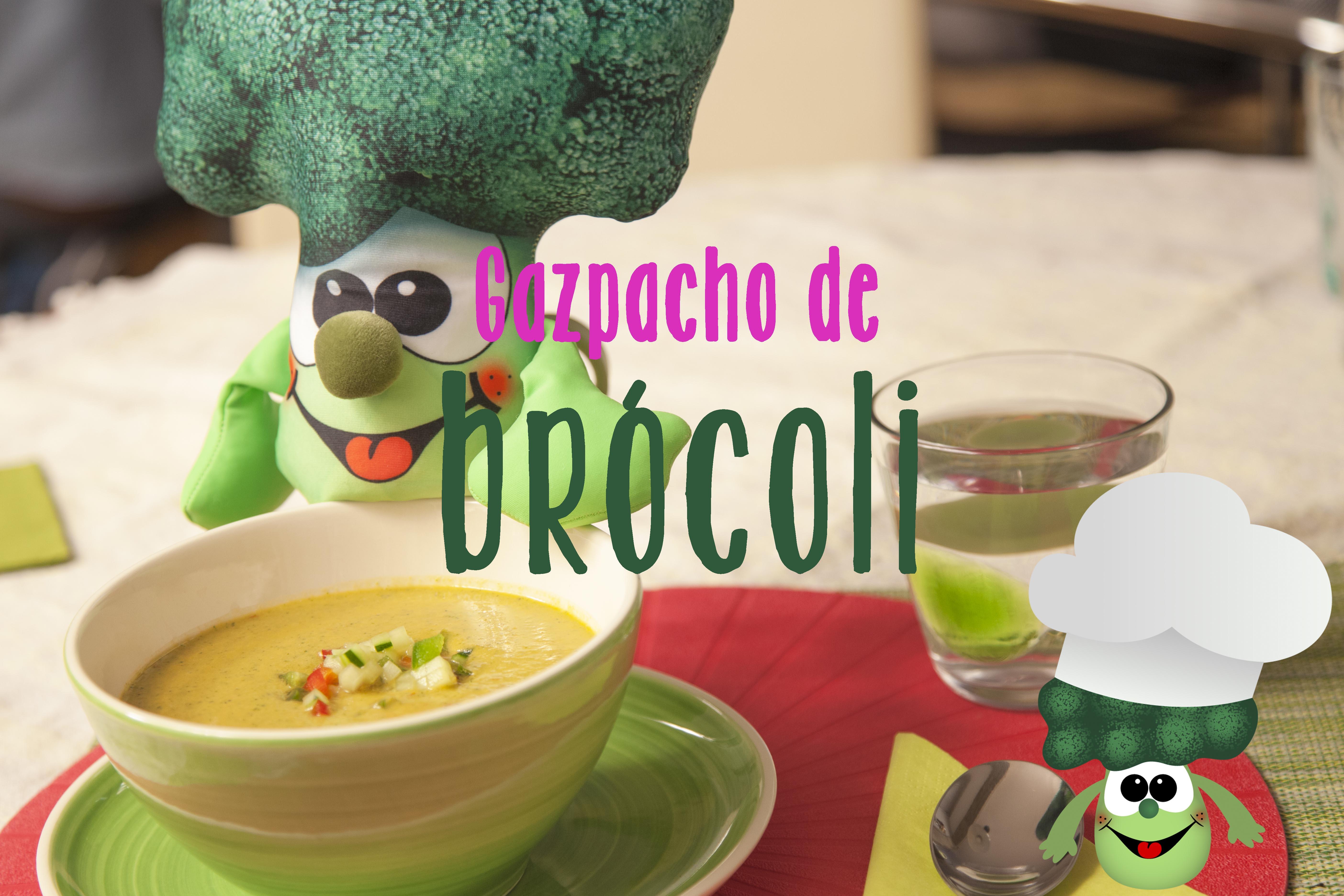 gazpacho de brócoli