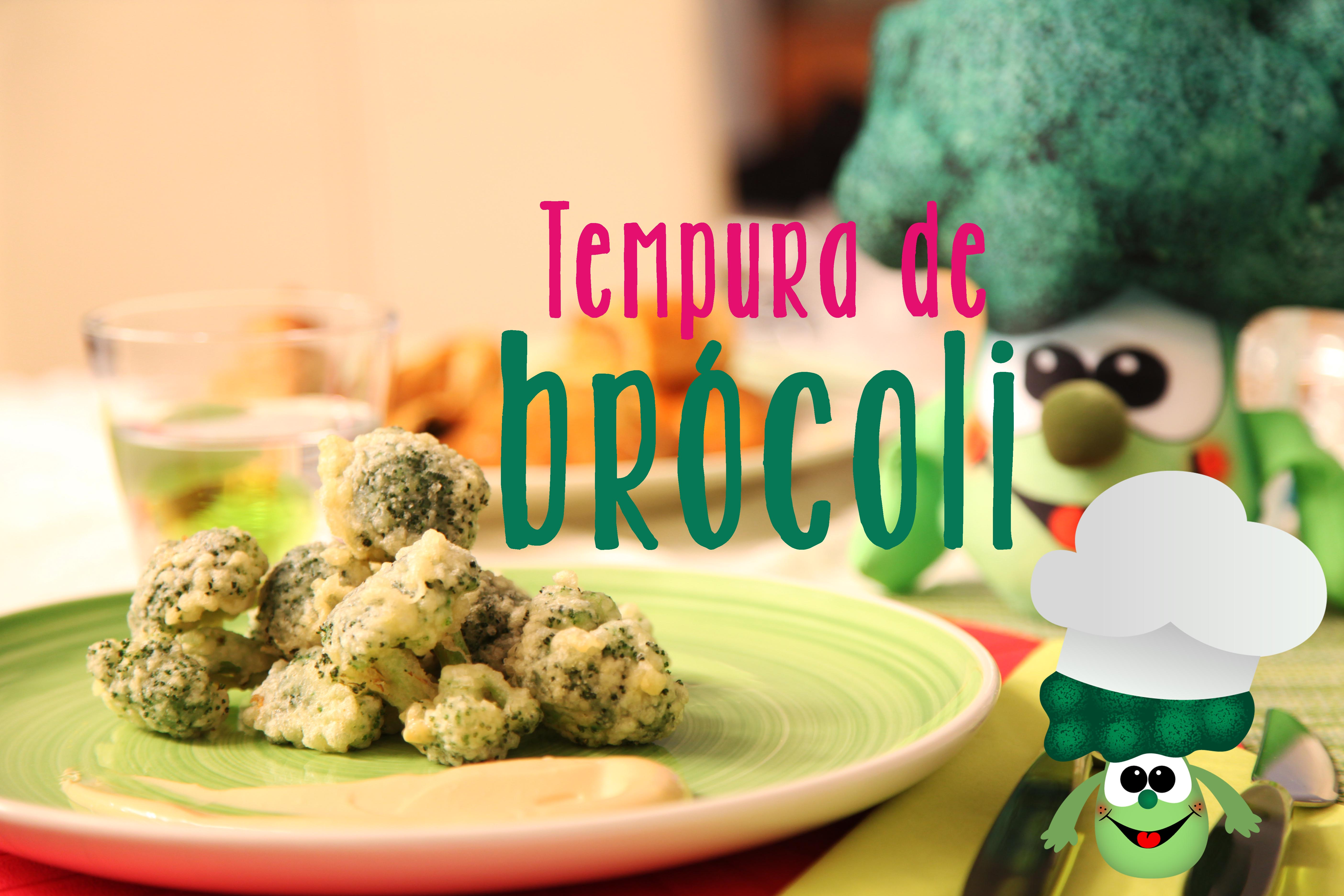 TEMPURA DE BRÓCOLI
