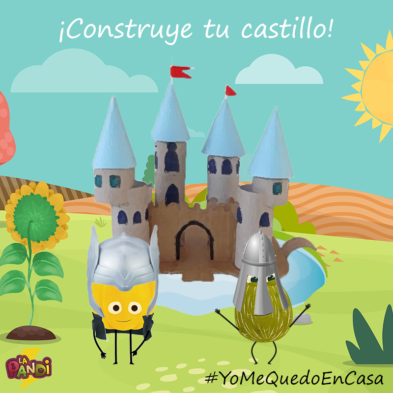 La Pandi Te Ense U00f1a A Construir Tu Propio Castillo